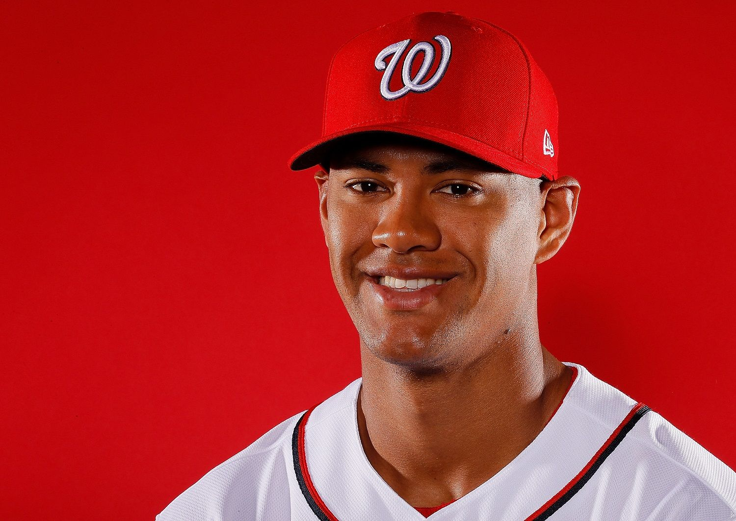 WEST PALM BEACH, FL - FEBRUARY 22:  Joe Ross #41 of the Washington Nationals poses for a photo during photo days at The Ballpark of the Palm Beaches on February 22, 2018 in West Palm Beach, Florida.  (Photo by Kevin C. Cox/Getty Images)