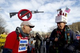Steven Rothman, Dan Knorowski, March for Our Lives