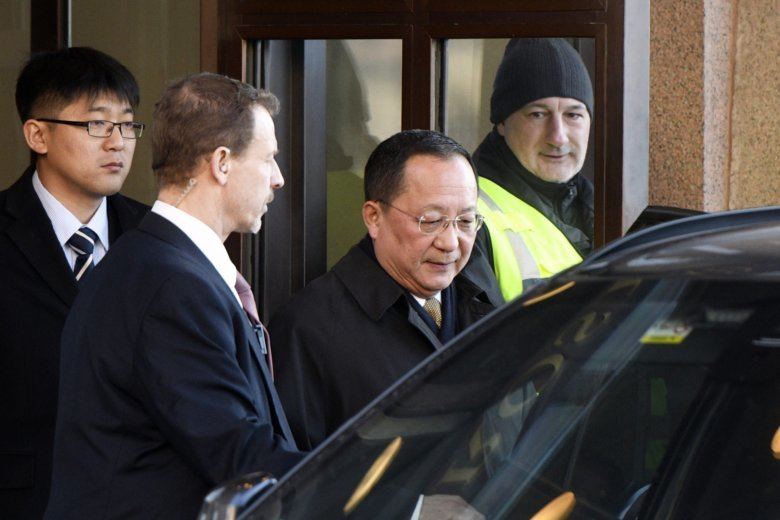 North Korean minister's Swedish visit fuels Trump-Kim expectations
