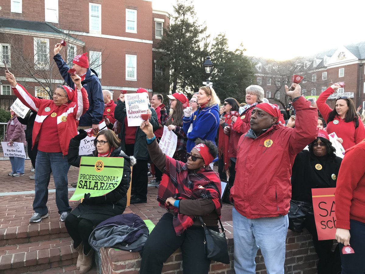 """The Maryland State Senate did approve the """"Fix the Fund Act,"""" which calls for an amendment to the state's constitution be placed on the November ballot to ensure casino revenue is used for Maryland schools. (WTOP/Michelle Basch)"""