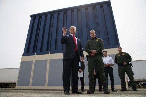 Trump suggests paying for US border wall with Pentagon funds