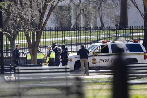 US Secret Service: Man dead after shooting himself outside of White House