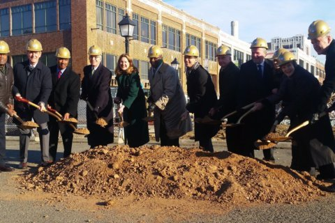 Groundbreaking marks major step in Alexandria waterfront plans