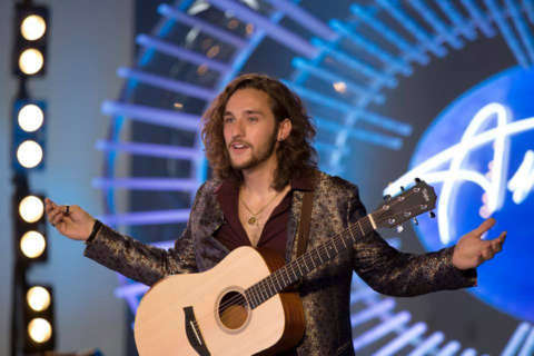 Ashburn native Brandon Diaz competes for a golden ticket on 'American Idol'