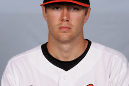This is a 2008 file photo of Chris Tillman of the Baltimore Orioles baseball team. This image reflects the Orioles active roster as of Monday, Feb. 25, 2008 when this photo was taken. (AP Photo/Rob Carr)
