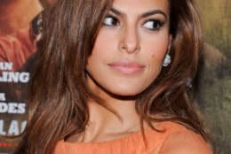 """Actress Eva Mendes attends the premiere of Focus Features' """"The Place Beyond The Pines"""" at the Landmark Sunshine Theater on Thursday March 28, 2013 in New York. (Photo: Evan Agostini/Invision/AP)"""