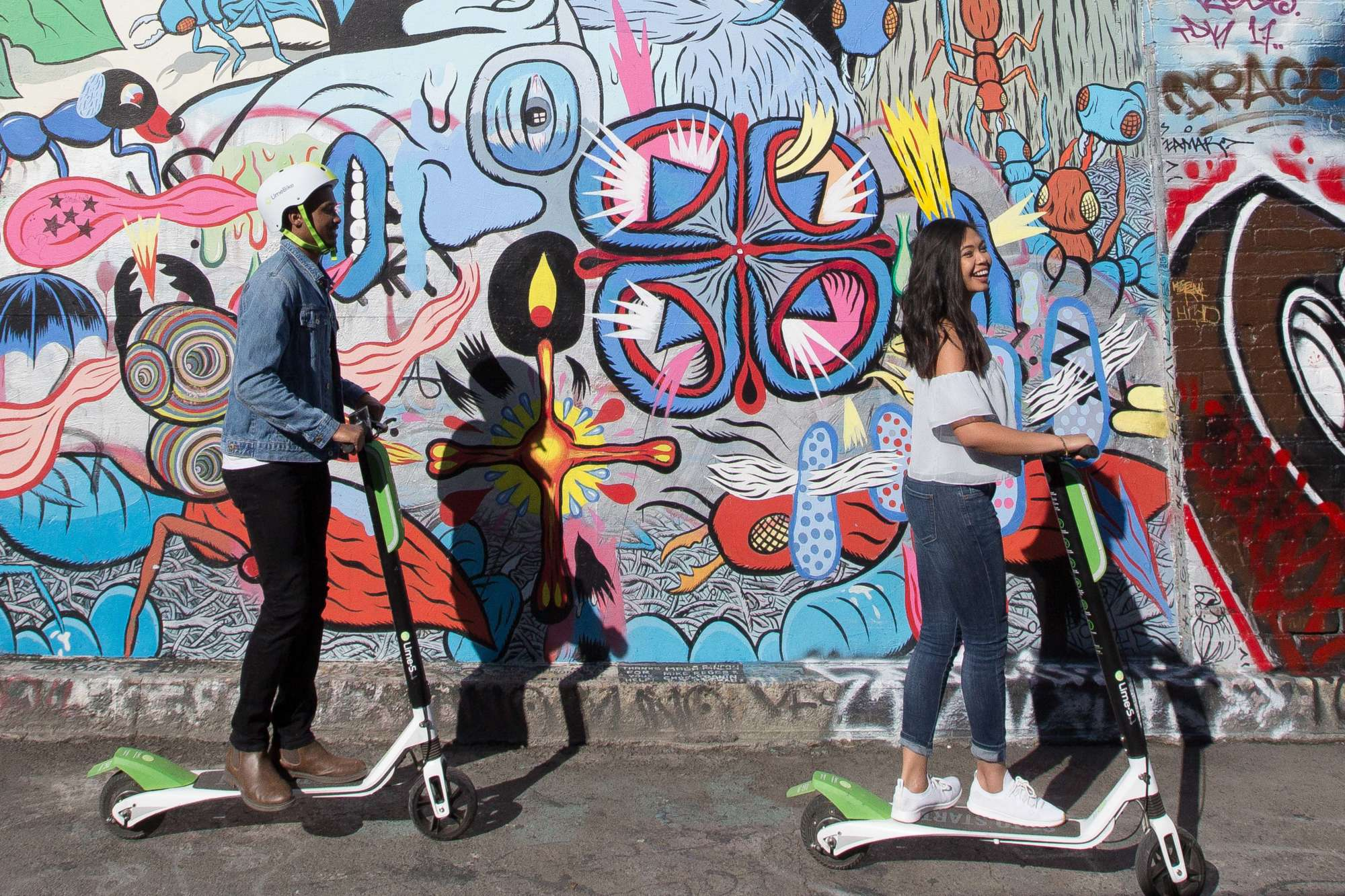 Limebike Adds Dockless Electric Scooters In Dc Wtop