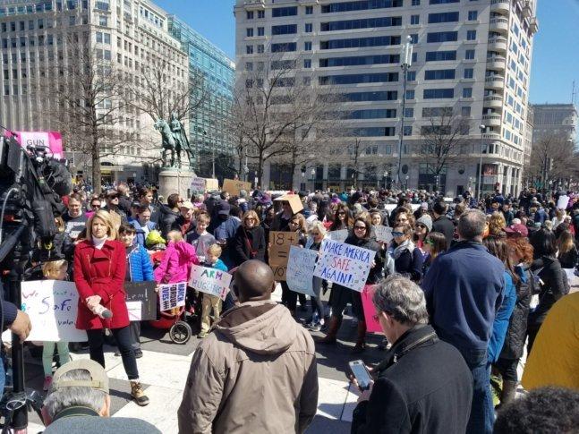 Protesters In DC Courtesy Olivia Prieto
