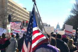WTOP's Kyle Cooper photographs the scenes from the March For Our Lives Rally in D.C. (WTOP/Kyle Cooper)