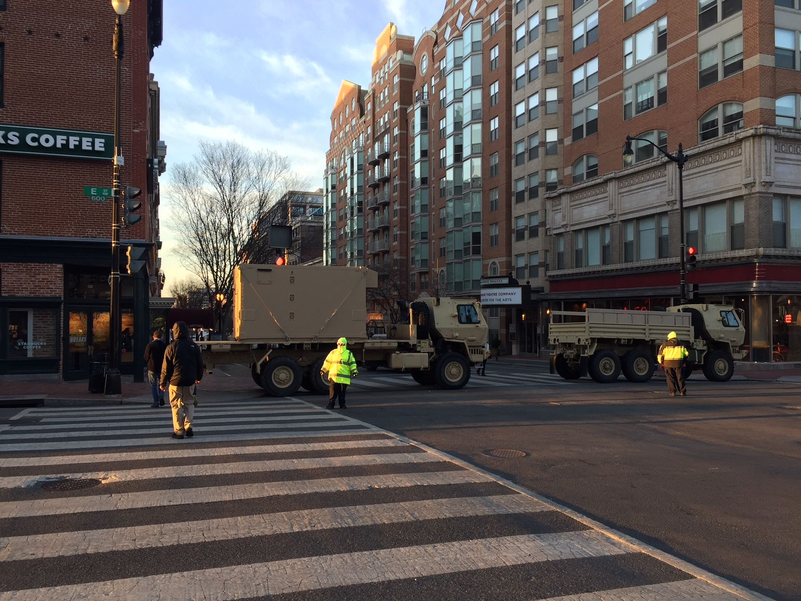 Numerous road closures are in effect in D.C. for Saturday's March For Our Lives. (WTOP/John Domen)