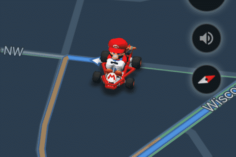 How to get Mario Kart on Google Maps this week