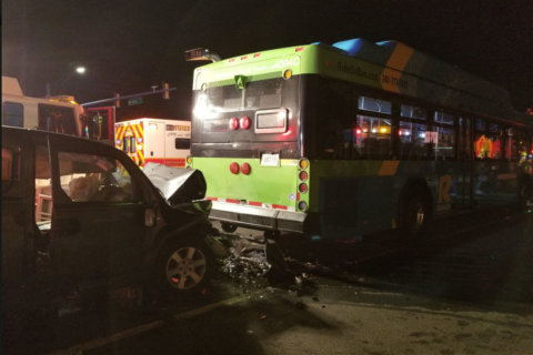 1 killed, multiple people hurt in Montgomery Co. crash involving bus