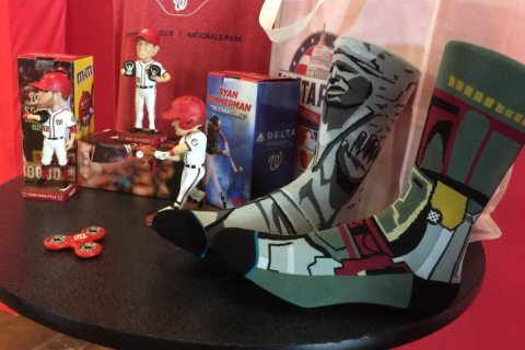 What's new at Nationals Park this year? New giveaways, bobbleheads, food for this season