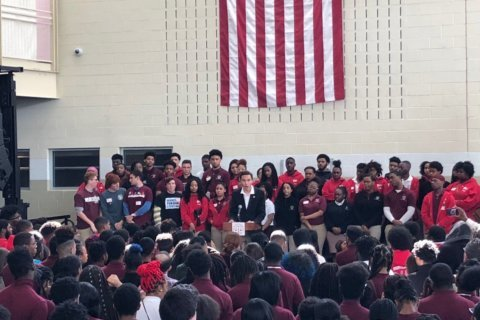 Florida school shooting survivors find common ground with DC students