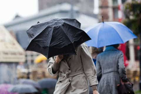 Over the top: Friday rain snarls commute; wet-weather record likely to fall by Sunday