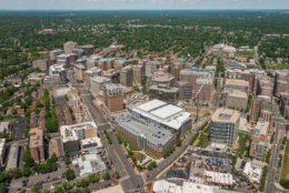 A rendering of the Ballston Quarter redevelopment. (Courtesy Forest City)