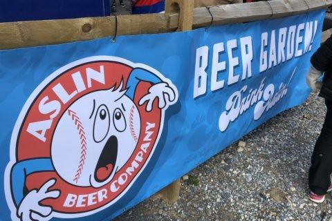 Aslin Beer Co. opens Nats Park beer garden