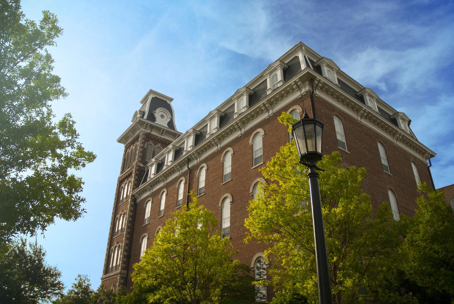 Old Main on the University of Arkansas campus. (Thinkstock)