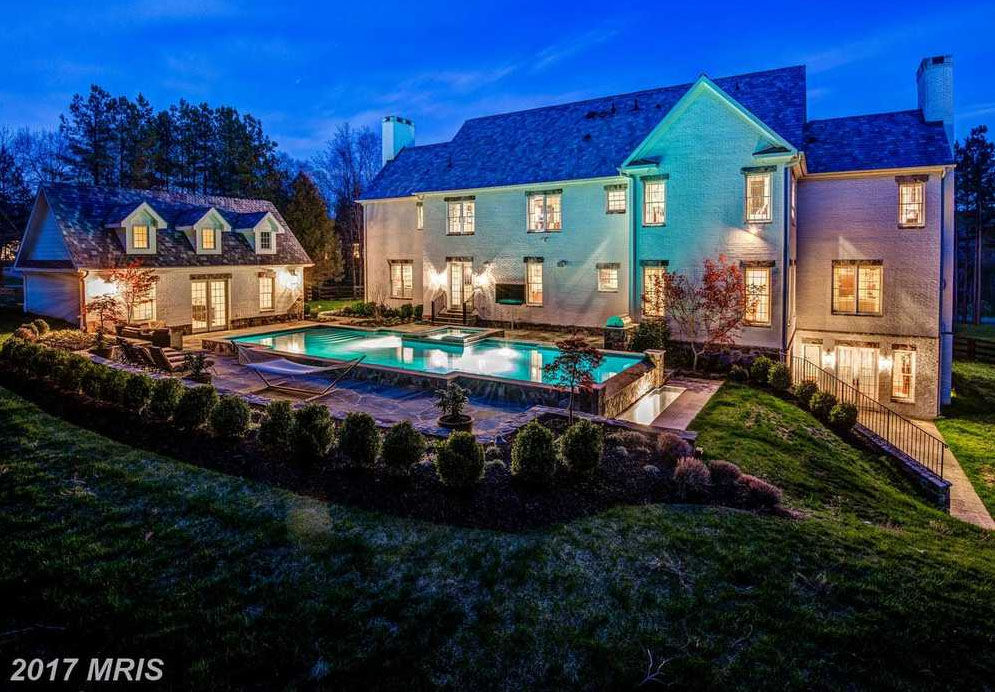 Former Redskins quarterback Robert Griffin III is looking to sell his Loudoun County mansion. (Courtesy Century 21)