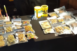 "D.C. police made two dozen arrests and sezied a ""mass amount"" of marijuana in January from one establishment. ""This definitely looks like more than the legal amount to us!"" the department tweeted. (Courtesy D.C. police via Twitter)"