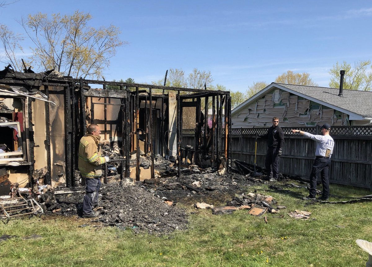The Bureau of Alcohol, Tobacco, Firearms and Explosives is assisting the investigation into the cause of the fire. (Courtesy Baltimore ATF)