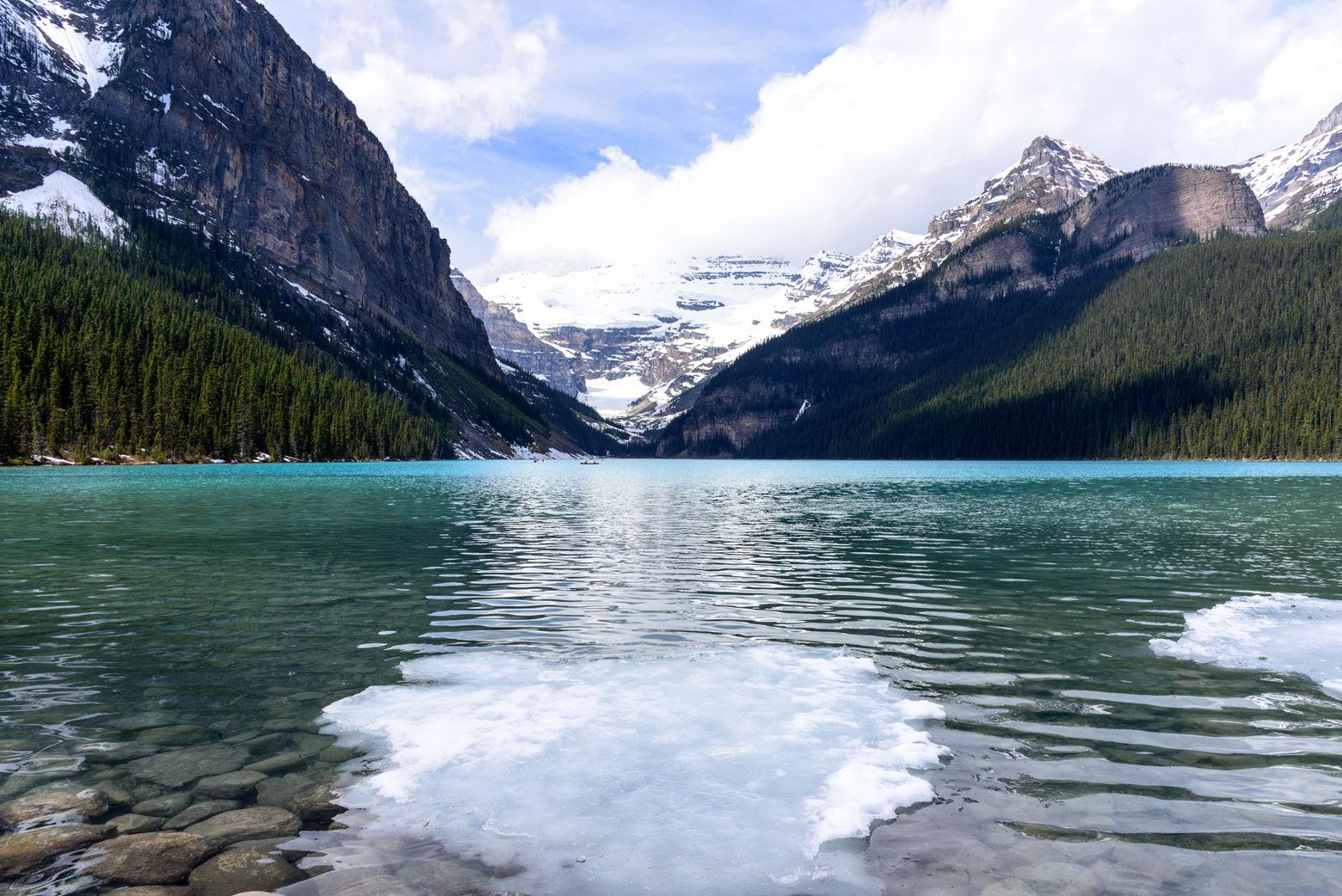 Lake Louise panorama, Banff National Park, Alberta, Canada