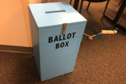 Fairfax County mailed out 151 ballots in the Democratic race as absentee voting began, the Office of Elections said. (WTOP/Max Smith)