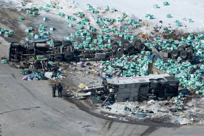 It Kills To Mourn Living >> Canada Town S Arena Focus Of Mourning After Crash Kills 15 Wtop