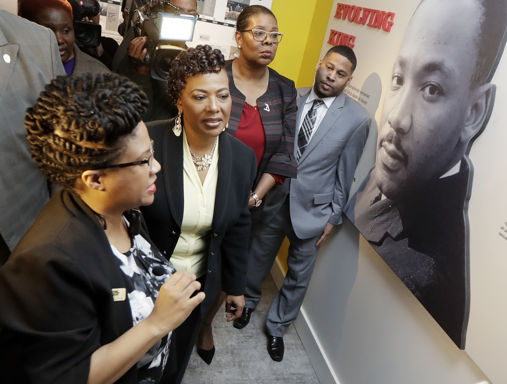 Bernice King Discusses Her Father His Legacy In Memphis Wtop