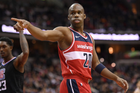 Wizards guard Jodie Meeks suspended for 25 games