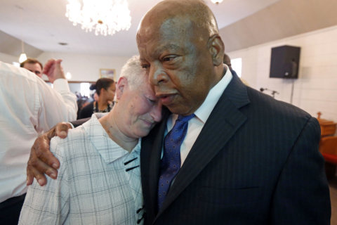 Rep. John Lewis to throw first pitch at Nationals Park