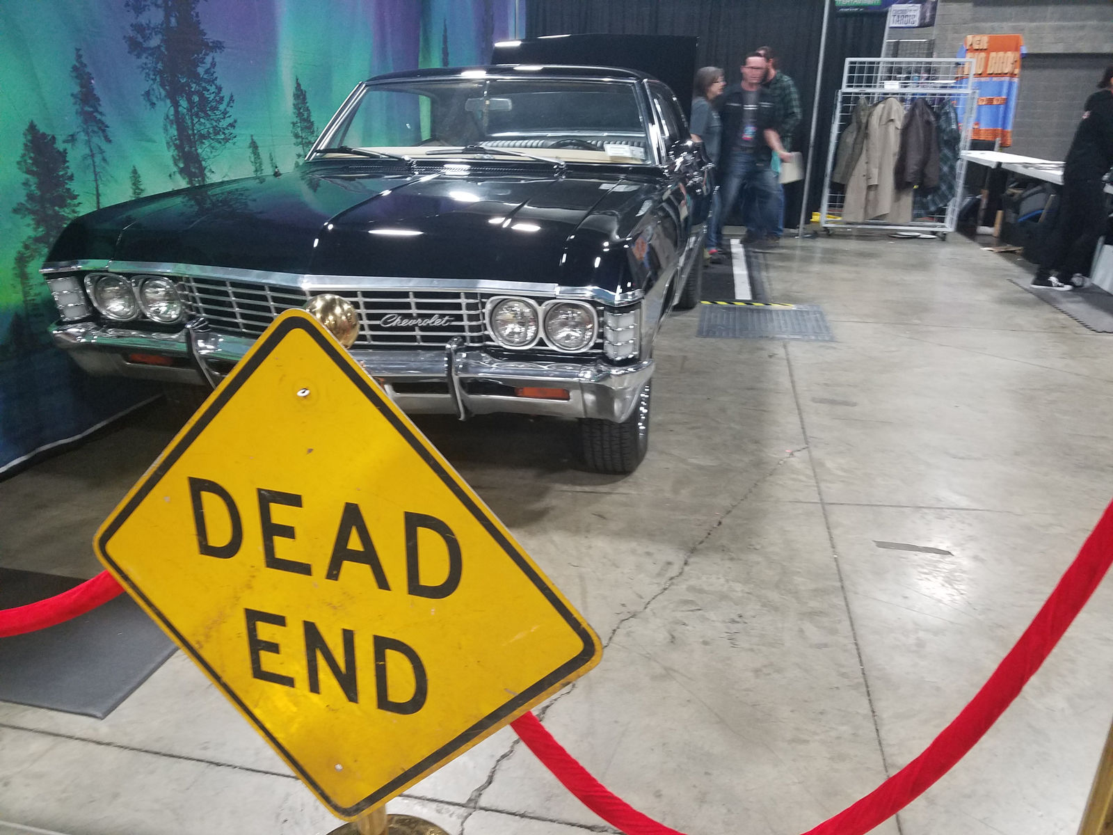 "The Chevy Impala from ""Super Natural."" (WTOP/Will Vitka)"
