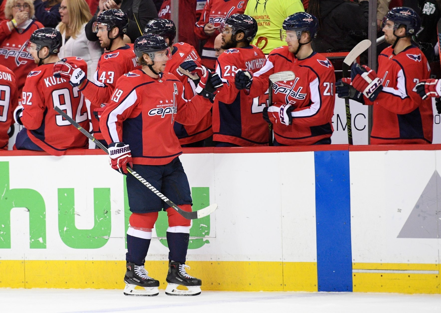 Capitals forward Nicklas Backstrom returned to the lineup Thursday after missing four games with an upper-body injury (AP Photo/Nick Wass)
