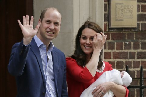 Prince charming: Kate gives birth to boy, home by suppertime