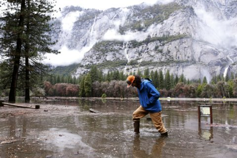 Yosemite reopening after flooding from California deluge