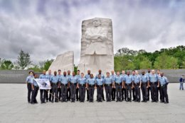 A previous class of cadets who will go through the training to better understand the African American experience in the city. (Courtesy DC Police)