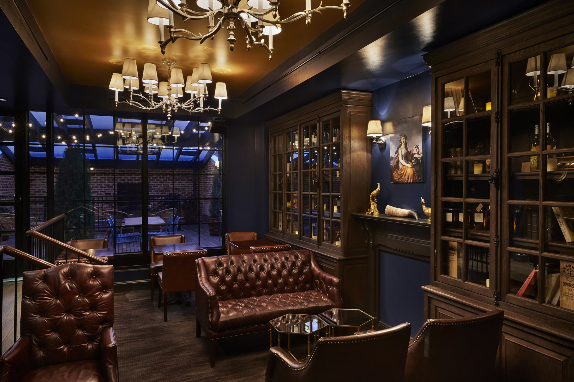 "The ""Spirits Library"" is among many distinct spaces at the Columbia Room. (Courtesy Streetsense/Greg Powers)"