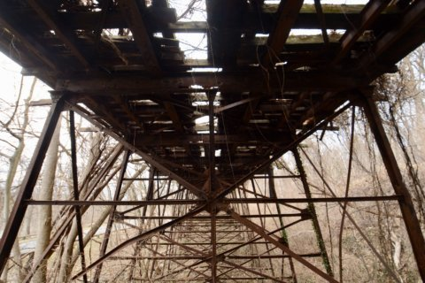 Metro, Park Service close Montgomery Co. trail due to compromised trolley trestle