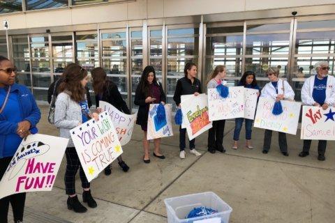 3 DC-area kids 'make a wish,' get uplifting send off to Disney World