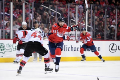 Preview: Caps look to extend winning streak in game against New Jersey Devils