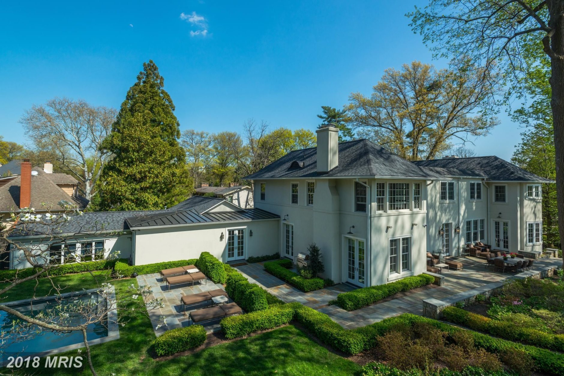 1. $5,350,000  5215 Edgemoor Lane Bethesda, Maryland  This 1913 colonial has six bedrooms and seven bathrooms.  (Courtesy Bright MLS)
