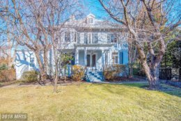 10. $2,535,000  3709 Bradley Lane Chevy Chase, Maryland  This traditional style detached home was built in 1916. It has four full bathrooms and six bedrooms.  (Courtesy Bright MLS)
