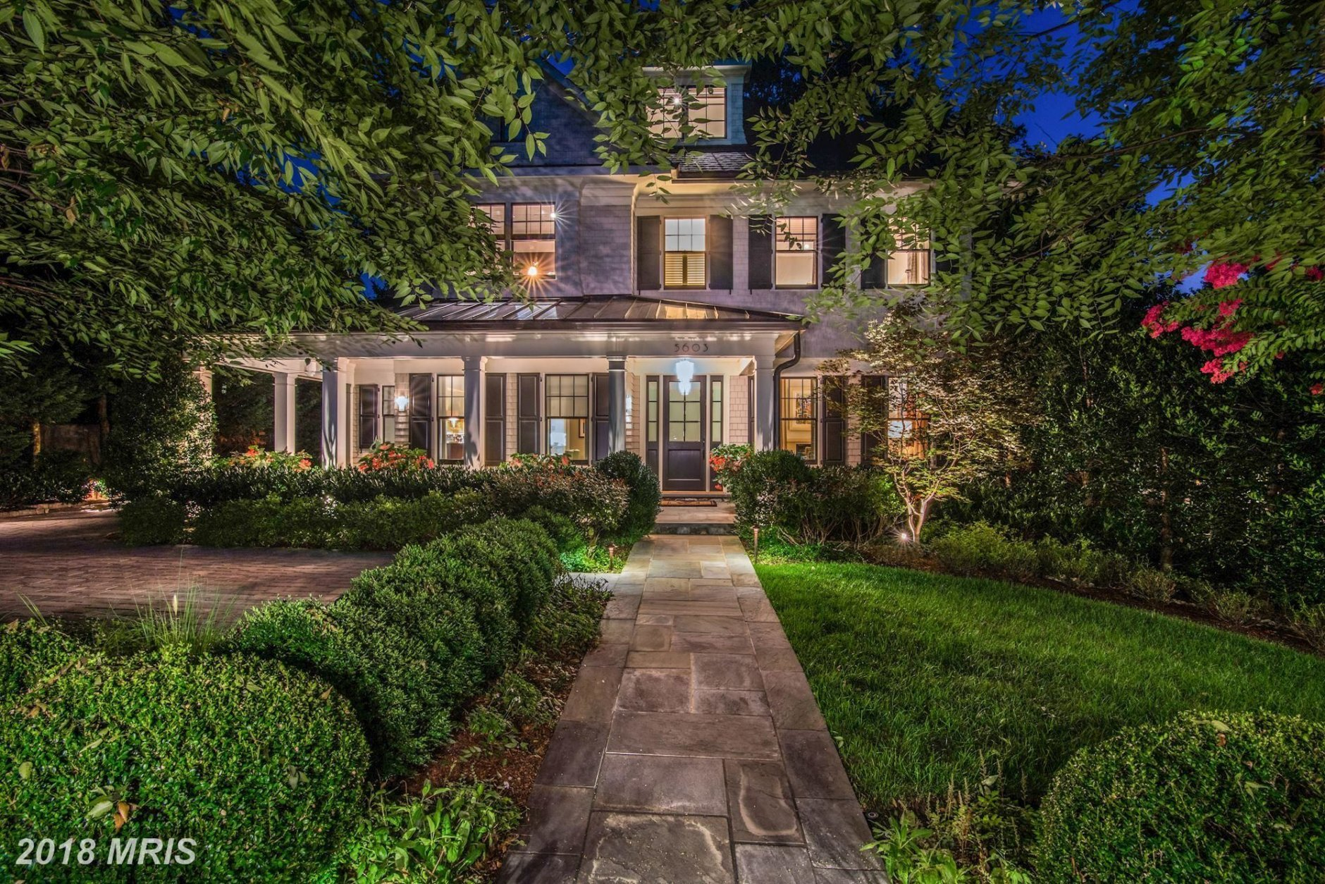 3.  $3,250,000  5603 Surrey Street Chevy Chase, Maryland  This five-bedroom colonial was built in 2011 and also includes five bathrooms.  (Courtesy Bright MLS)