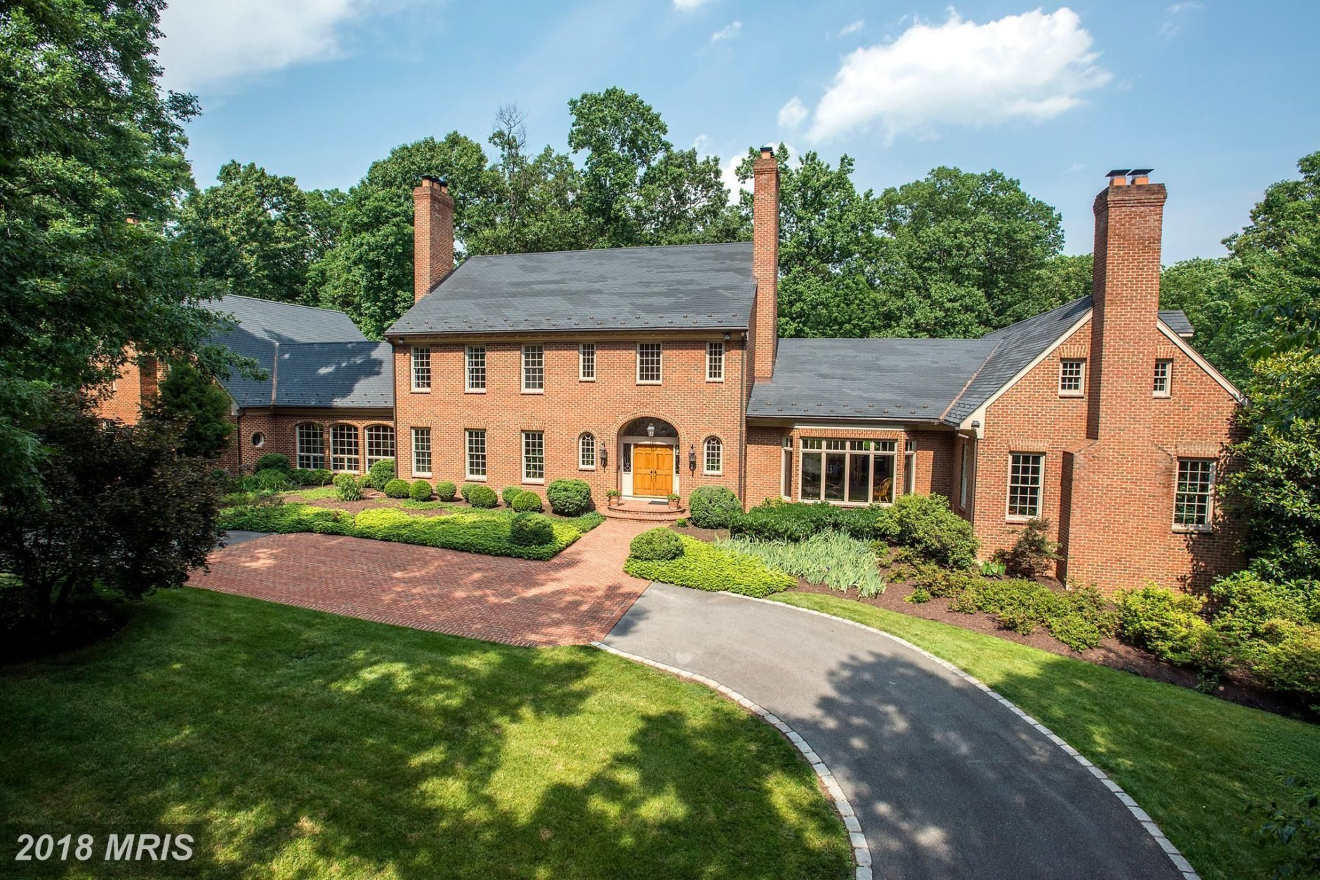 5. $3,000,000  19 Piney Glen Court Potomac, Maryland  This colonial home was built in 1988 and has six bedrooms and seven bathrooms.  (Courtesy Bright MLS)