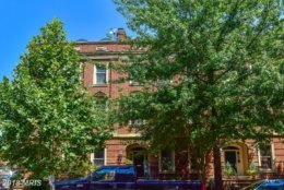 6. $2,800,000  1755 P Street NW Washington, D.C.  This federal townhouse built in 1981 has five bedrooms and bathrooms.   (Courtesy Bright MLS)