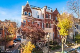 8. $2,550,000  1616 22nd Street NW  Washington, D.C.   This semi-detached victorian home was built in 1906 and includes five bedrooms and four full bathrooms.   (Courtesy Bright MLS)
