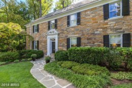 9. $2,550,000  3000 Woodland Drive NW  Washington, D.C.   This six-bedroom colonial style home was built in 1927.   (Courtesy Bright MLS)