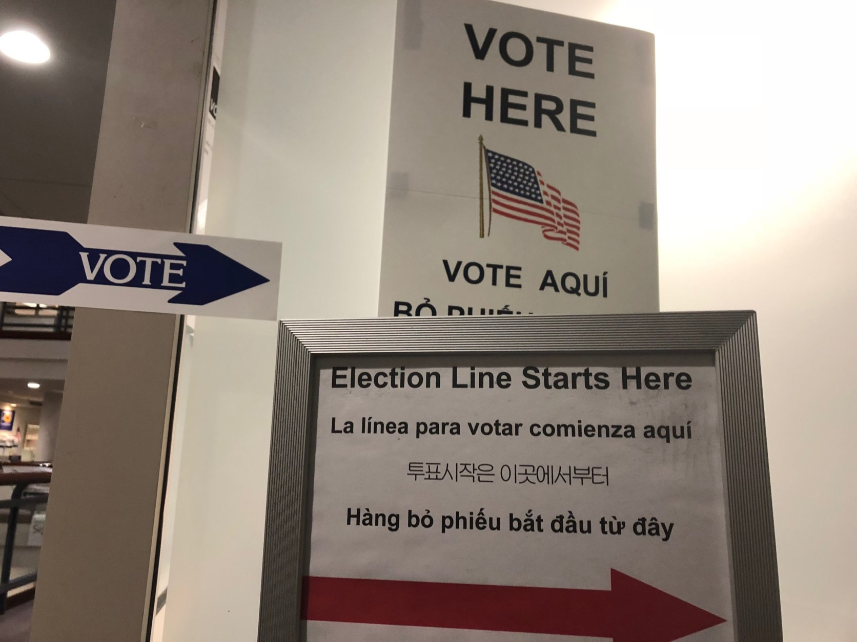 Voters have until Jun. 5 to request a mail-in absentee ballot, and through Jun. 9 to vote in-person absentee if they have one of a number of qualifying reasons such as travel, a long workday and commute, or other obligations on election day when polls are open from 6 a.m. to 7 p.m. (WTOP/Max Smith)