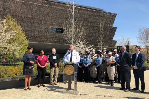 Acknowledging DC's history, changing neighborhoods in officer training
