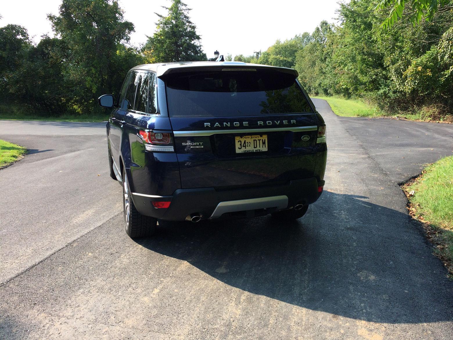 Range Rover Sport HSE Td6: Diesel fuel mileage with plenty